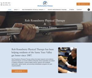 Rob Rosenberry Physical Therapy