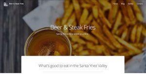 Beer & Steak Fries